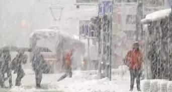 Боснию замело мощными снегопадами