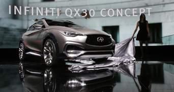 Infiniti представила у Женеві концепт свого нового компактного паркетника – QX30