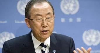 Генсек ООН призвал бороться с насилием над женщинами