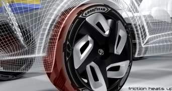 Представлені концептуальні шини для електромобілів