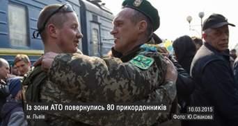 Самые актуальные кадры недели: почтение памяти Шевченко, возвращение бойцов с АТО