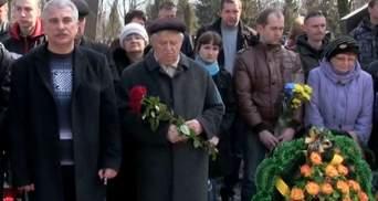Відбулося перепоховання одного з загиблих під Іловайськом