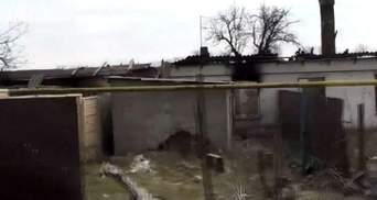 Як знищували селище Опитне поблизу Донецького аеропорту