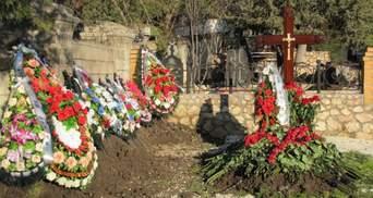 На похоронах сына Януковича задержали российского журналиста