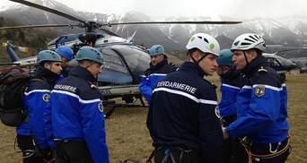 Трагическая авиакатастрофа во Франции в фотографиях