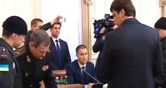 Голову Держслужби з надзвичайних ситуацій затримали прямо на засіданні Кабміну