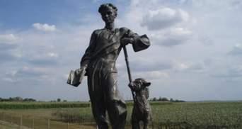 Пам'ятник Шевченку вкрали на Черкащині