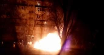 В Киеве сгорели 10 машин