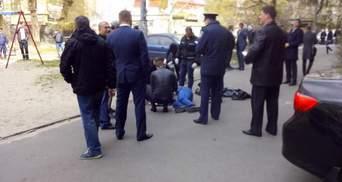Бузина — убит: фото с места происшествия