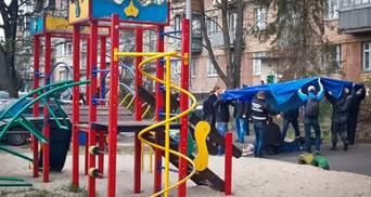 Кровавое преступление в Киеве: ужасные фото с места убийства Бузины (18+)