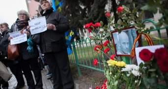 Москвичи почтили память убитого Бузины — полиция не мешала проводить акцию