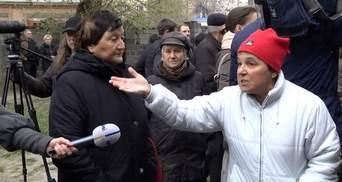 Во время похорон Бузины возле дома произошел скандал