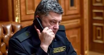 Порошенко поговорил об освобождении Савченко с Генсеком ООН