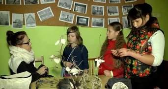 В киевской библиотеке детям показали химическое шоу
