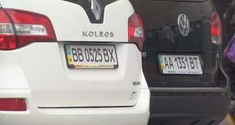 Як водії відреагували на заборону нестандартних номерних знаків