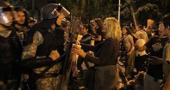 У Македонії протестують проти уряду, є постраждалі