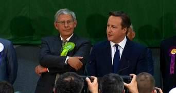 Екзит-пол: партія Кемерона лідирує на виборах Великобританії