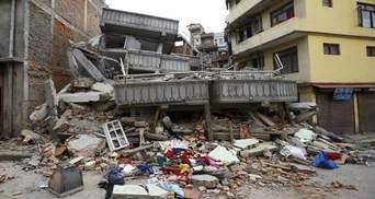 В Непале после землетрясения появились опасные озера