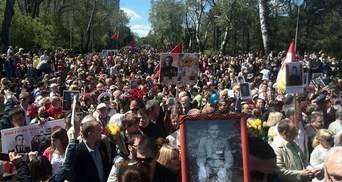 """На Алеї слави в Одесі виганяють з міста """"бандерівських бісів"""""""