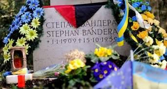 Могилу Бандери в Мюнхені знову понищили вандали
