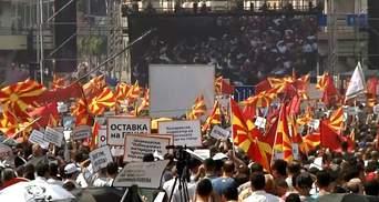 У Македонії масові протести
