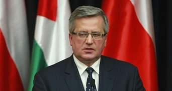 На президента Польши совершили покушение