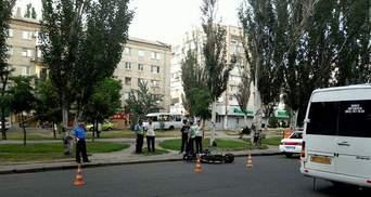 У Миколаєві мотоцикліст збив вагітну жінку