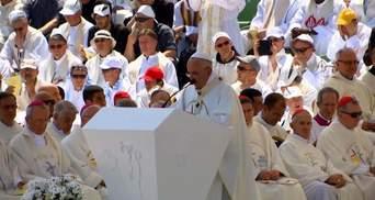 Папа Римский собрал целый стадион в Боснии