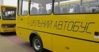 На Полтавщині затримали нетверезого водія шкільного автобуса