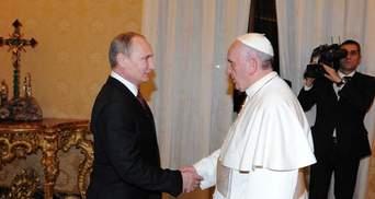 Глава УГКЦ порадив Папі Римському, як треба сварити Путіна