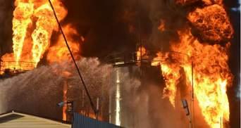 Пожежа на нафтобазі: паливо не було застраховане