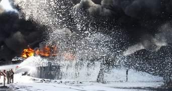 ТОП-новини. Вбивчий вогонь нафтобази, лежачі фани Мельничука, Кириленко покаже інститут