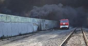 Пожежа під Києвом: день четвертий