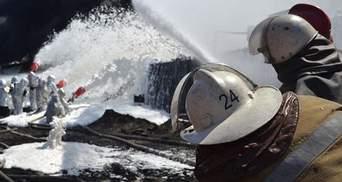 Турчинов пояснив, чому відмінили евакуацію з району палаючої нафтобази