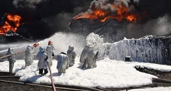 На нафтобазі під Києвом можливі ще два вибухи, але ситуація під контролем