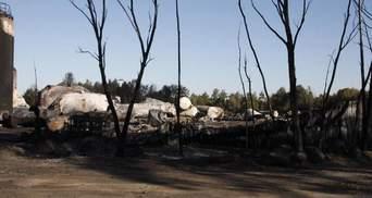 На палаючій нафтобазі під Києвом знайшли ще одне тіло (Оновлено)