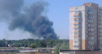 Під Києвом спалахнула нова масштабна пожежа
