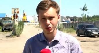 Ликвидация пожара под Киевом завершается