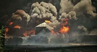 На тушение пожара приехали машины без бензина и с пробитыми шинами, — представитель нефтебазы