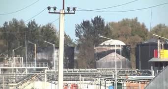 Что осталось от нефтебазы после пожара
