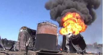 З'явилися нові моторошні фото пожежі під Києвом