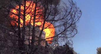 Нафтобаза під Києвом до і після страшної пожежі