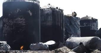 Яценюк зізнався, скільки мільйонів пішло на гасіння пожежі під Києвом