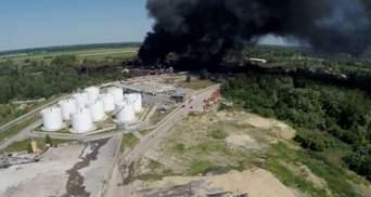 Відкритого вогню на нафтобазі вже немає