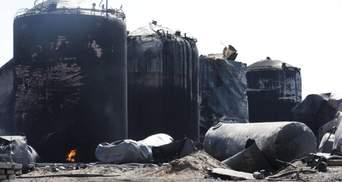 Забруднених через пожежу на нафтобазі продуктів на прилавках не буде, — міністр