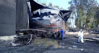 На нафтобазі під Васильковом сталась аварія — прорвало трубопровід