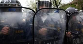 Полиция водометами разогнала демонстрантов в Армении. Есть задержанные