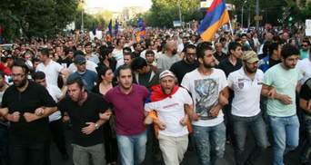 У Вірменії поліція висунула активістам ультиматум
