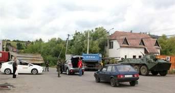 Разборки в Мукачево. Хронология событий 14 июля