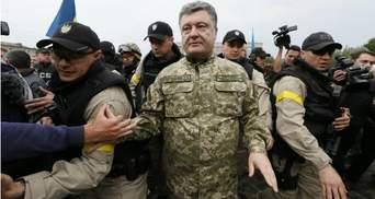 Как Ужгород ожидает Порошенко: аэропорт оцеплен, милиция каждые 10 метров